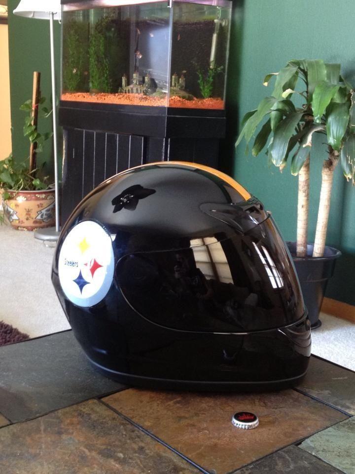 f6ff99eaa7a Steelers Motorcycle helmet
