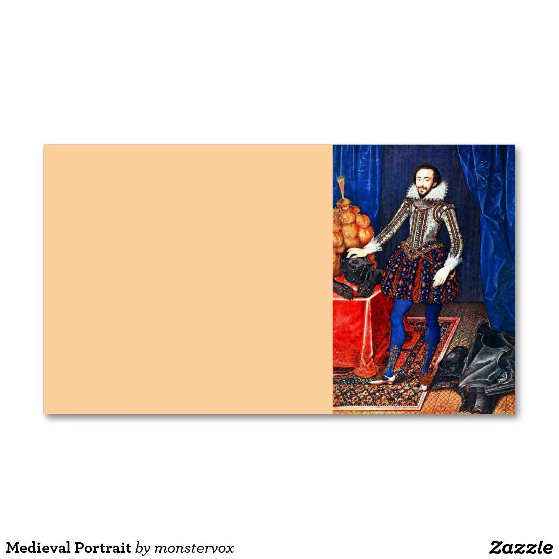 Medieval Portrait Business Card | Business cards, Medieval and Portraits