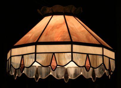 How To Make Stained Glass Lamp Shades Paneles De Vidrios De