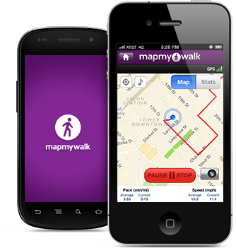MapMyWalk is the #1 walking app. Link it to your ... on map of az, how far did i walk, map destiny,