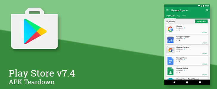 Play Store v7.4 reveals a new My Apps screen remote authorization for family purchases and more [APK Teardown] http://ift.tt/2jsNKpY