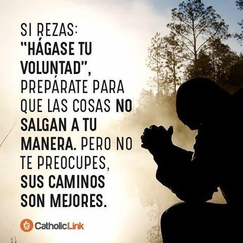 Cuando pones tu vida en las manos de Dios, las cosas, aunque no ...