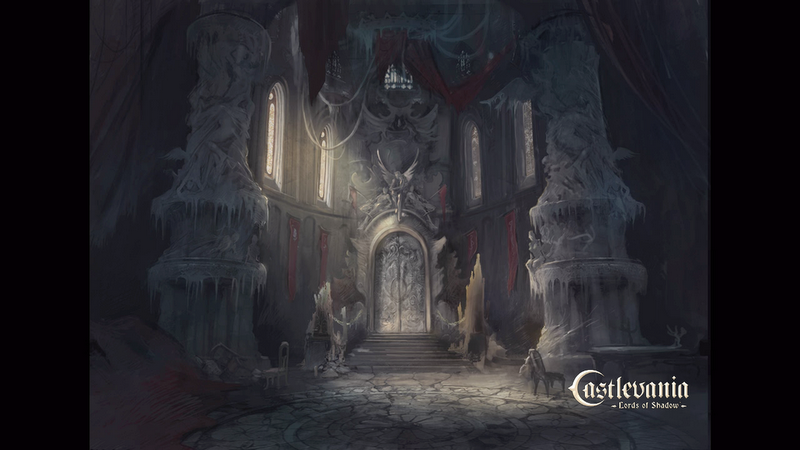 Castle Interior Concept Art From Castlevania Lords Of Shadow