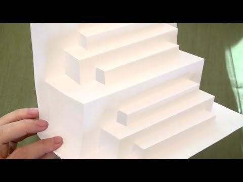Asmr Paper Engineering Stair Steps Asmr Trigger Sounds Paper Popup Tingles Soft Talking Paper Engineering Pop Up Cards Paper Stars