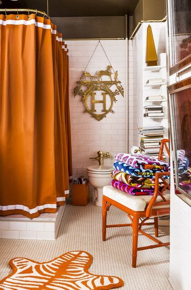 Jonathan Adler And Simon Doonan S Colorful Shower Curtain Chair