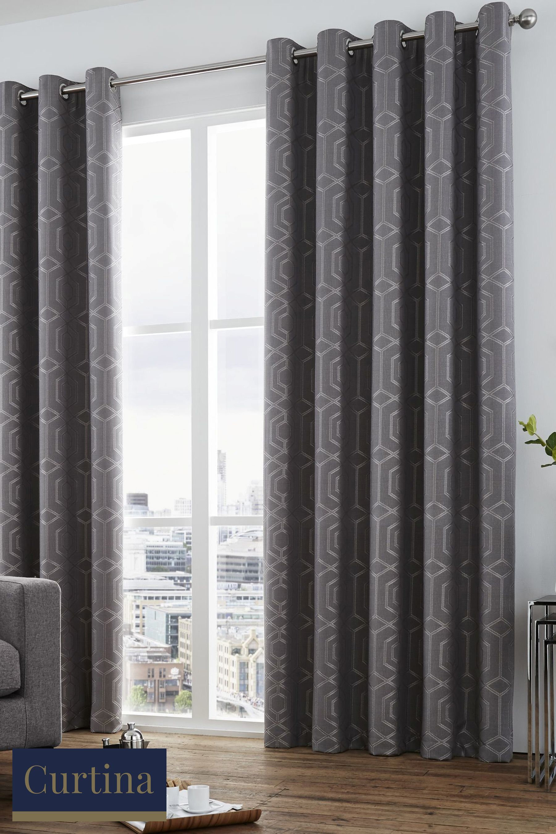 Buy Curtina Camberwell Eyelet Curtains From The Next Uk Online