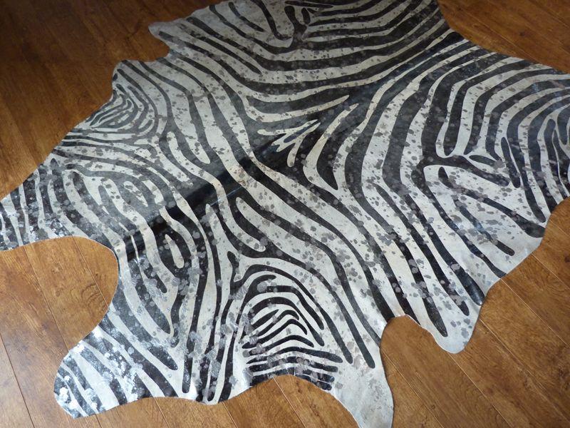 Silver Metallic Zebra Print Cowhide Rug Http Www Hiderugs Co
