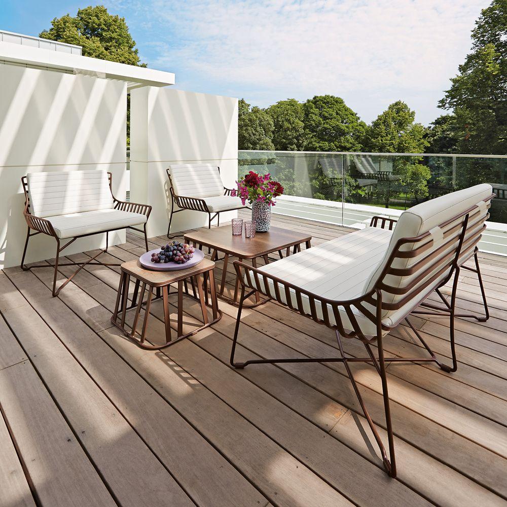 Stolik Kawowy Clifton 71 X 71 Garpa Produkt Homesquare Aussenmobel Beistelltisch Holz Sitzen