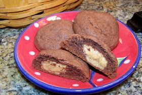 Eye for the Buy and the Pie: Soft Choco-Peanut Butter Cookies
