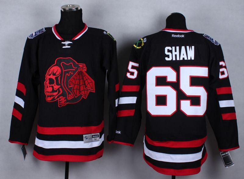 2014 NHL Chicago Blackhawks 65 Shaw Camo Jersey