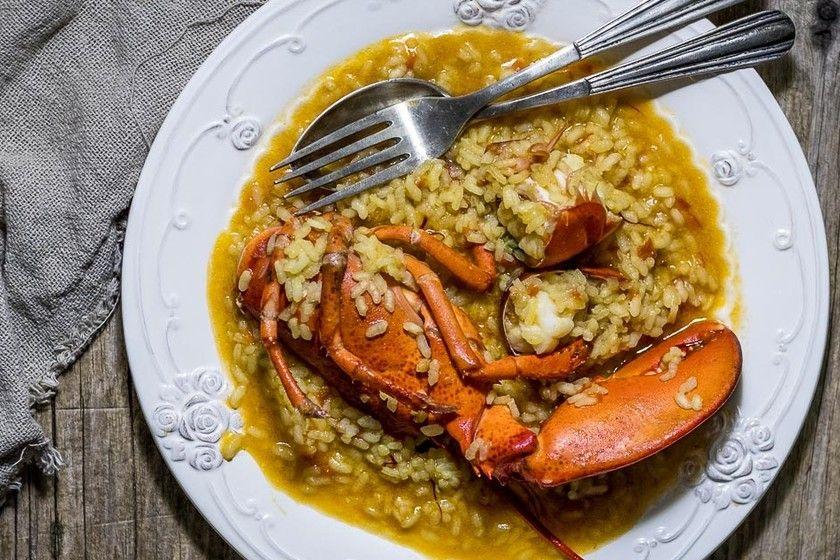 Arroz Con Bogavante Receta De Cocina Fácil Sencilla Y Deliciosa Arroz Recetas Con Arroz Recetas De Cocina Fáciles