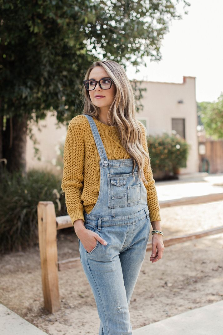 Three Ways to Wear Overalls This Fall