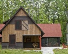 Fun Farm Houses Design Ideas Pictures Remodel And Decor Rustic Exterior Cabin Exterior Colors Traditional Exterior