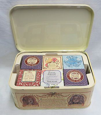 POTTER-MOORE-ASSORTED-SOAP-18-x-25g-ROSE-INDIGO-GERANIUM-LAVENDER-HERBAL