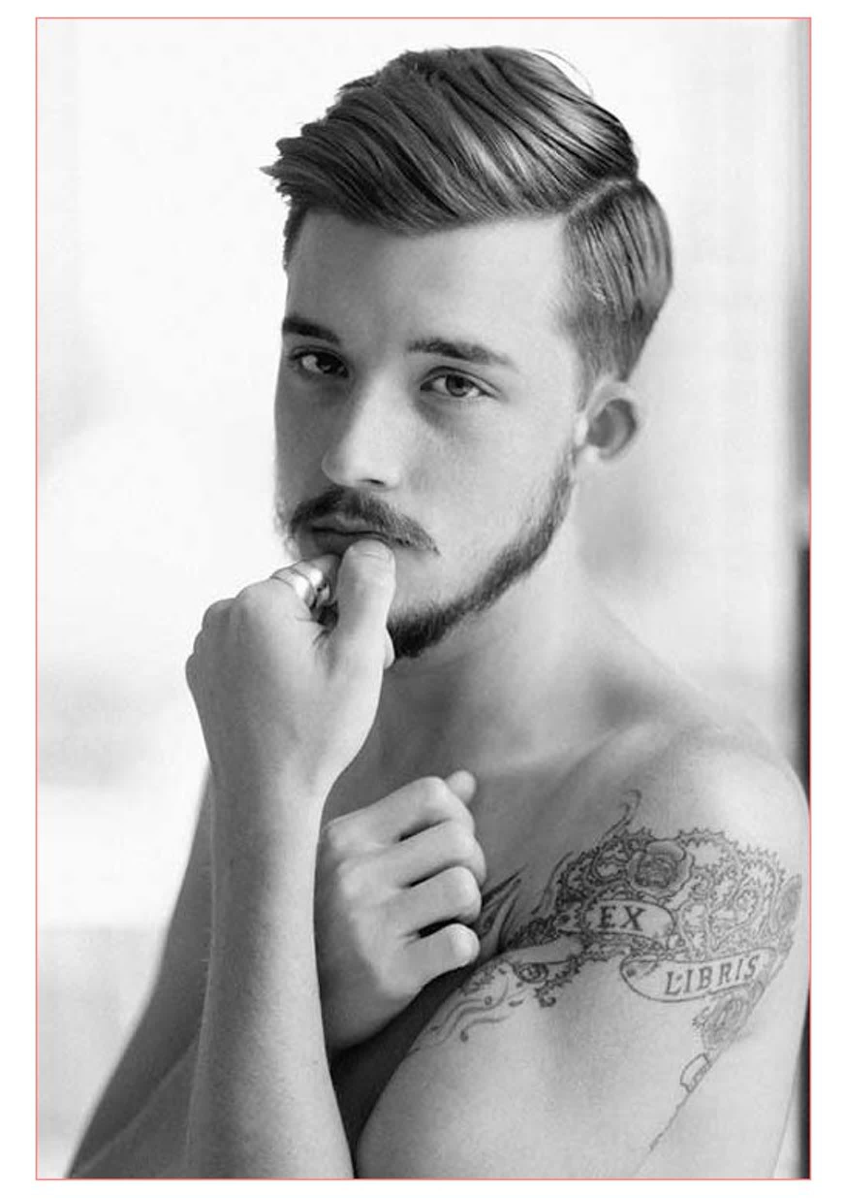 hairstyles men round face with straight hair men | männer