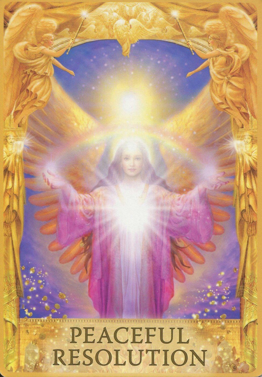 Doreen Virtue Angel Answer Oracle Card Michaelsusanno Angel Answers Oracle Cards Angel Tarot Cards Angel Tarot