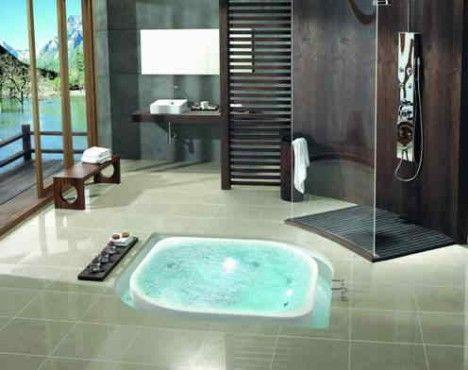 Luxus badezimmer mit whirlpool  da wird das Badezimmer zur Welless-Oase!!! | Luxusbäder ...