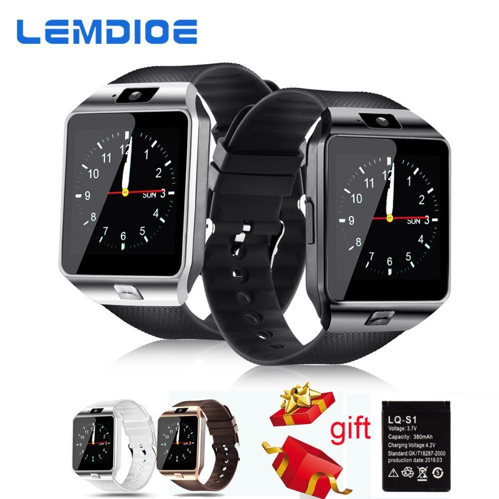 Lemdioe Smart Watches Dz09 Sim Card Call Bluetooth Watch Smart Dz09