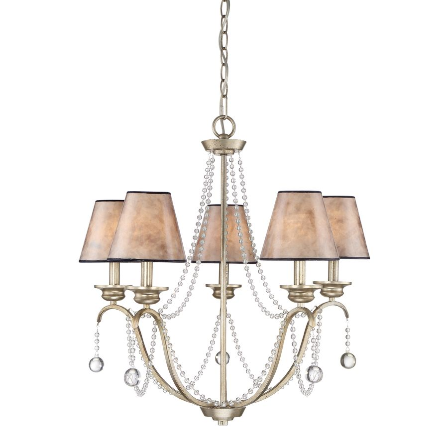 Good Bungalow Chandelier Part - 10: Quoizel Jenna 25.8-in 5-Light Gold Country Cottage Tiered Chandelier | $179