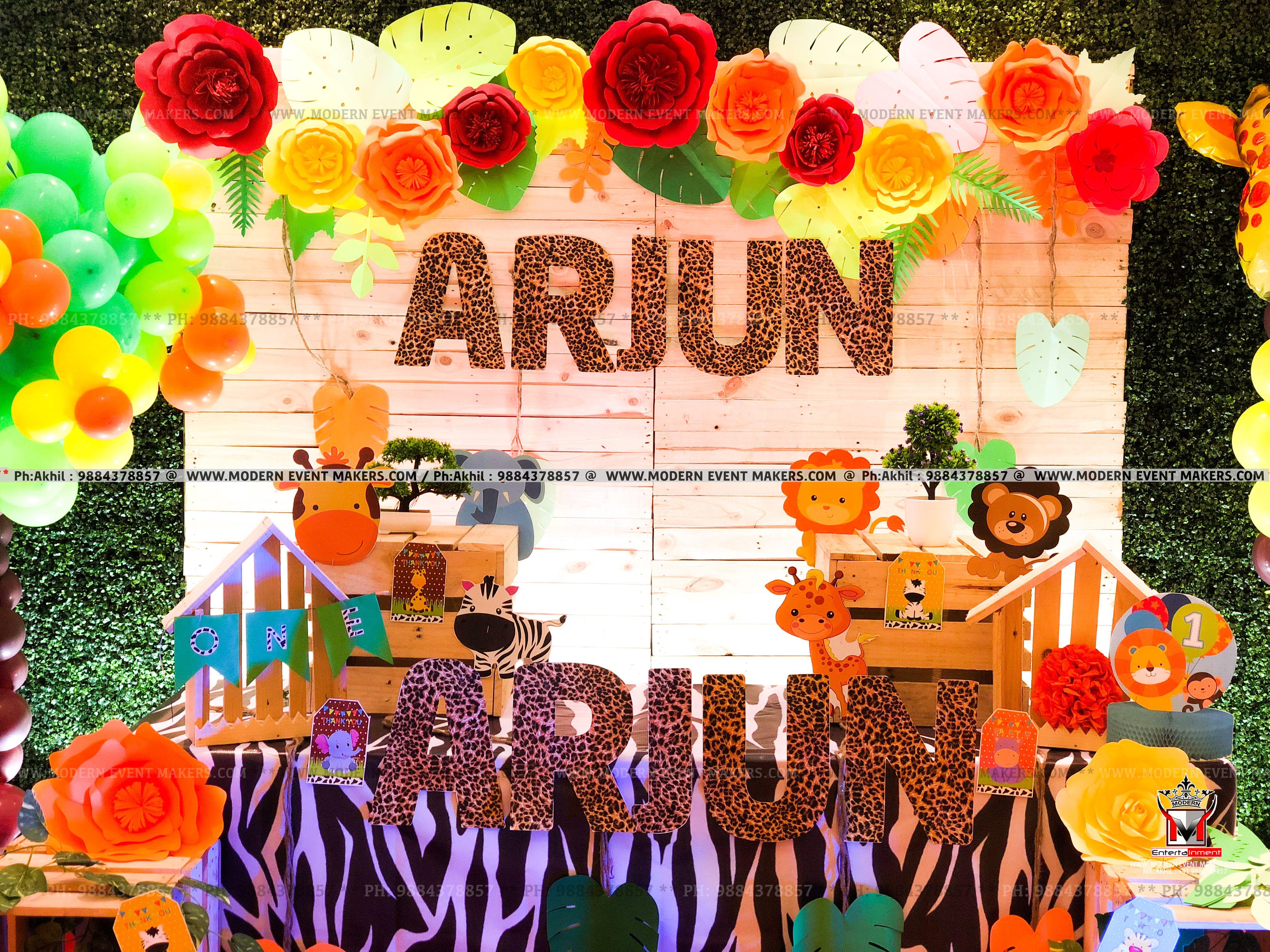 Jungle Safari In 2020 Birthday Party Themes Jungle Safari Birthday Birthday Party Decorations