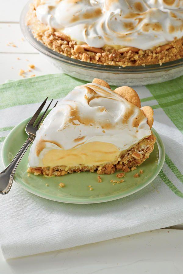 Parlor-Perfect Ice Cream Cake and Pie Recipes: Lemon Meringue Ice-Cream Pie