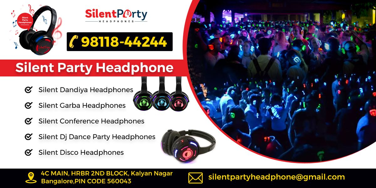 Are you organizing a party and looking to take silent