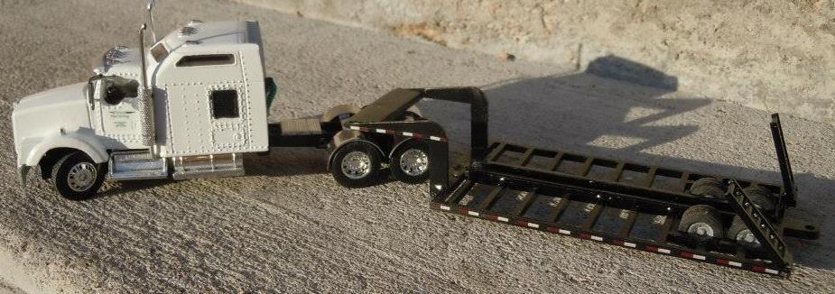 1 64 Scale Single Combine Trailer Rockin H Farm Toys Farm Toys Diecast Trucks Tractor Trailers