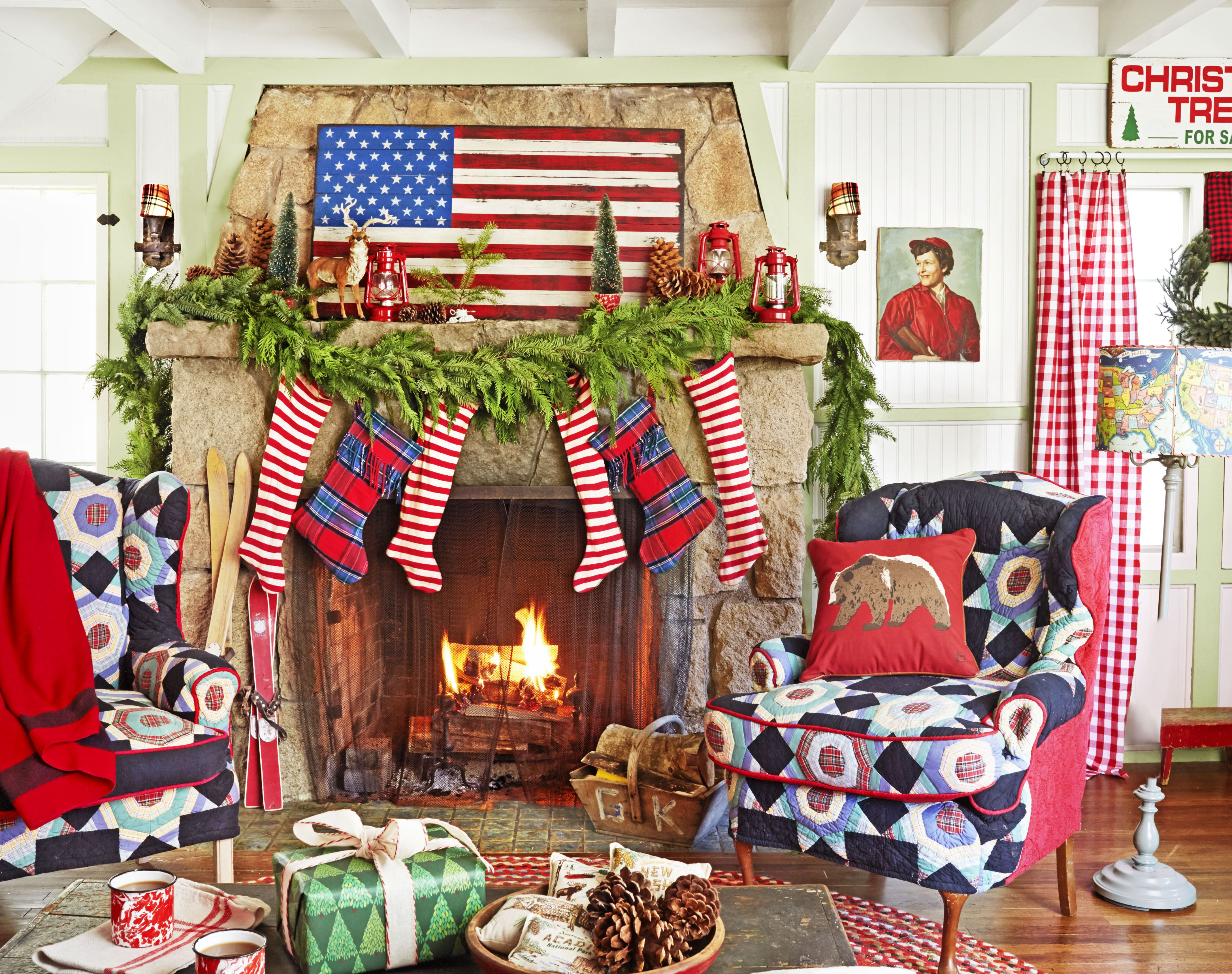 This Cabin Celebrates The Most Country Christmas Ever