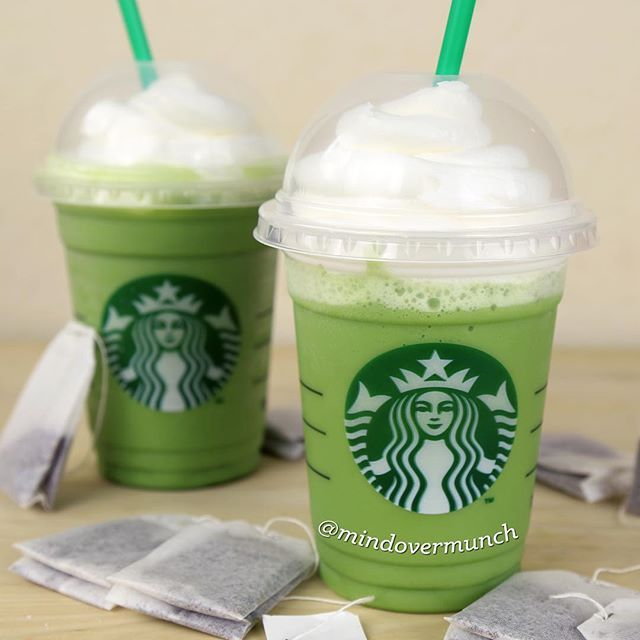 Matcha Green Tea Latte W/ Coconut Milk 1 Cup Coconut Milk