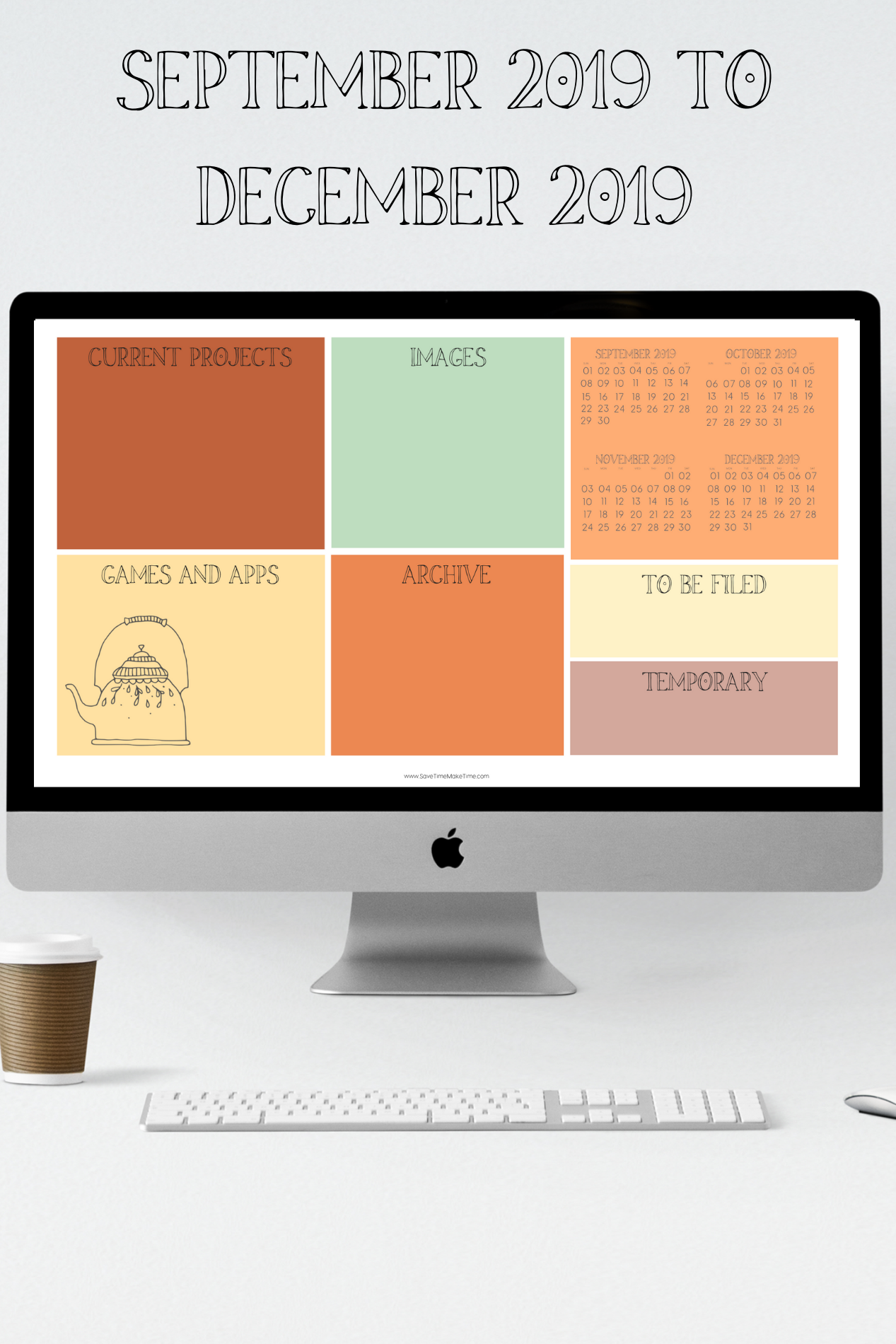 Seasonal Desktop Wallpaper Organizers And Calendars Hygge Inspired Save Time Make T In 2020 Desktop Wallpaper Organizer Desktop Wallpaper Cool Wallpapers For Phones