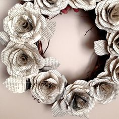 Photo of Book Art: Crafting Paper Roses – Linda K Sienkiewicz