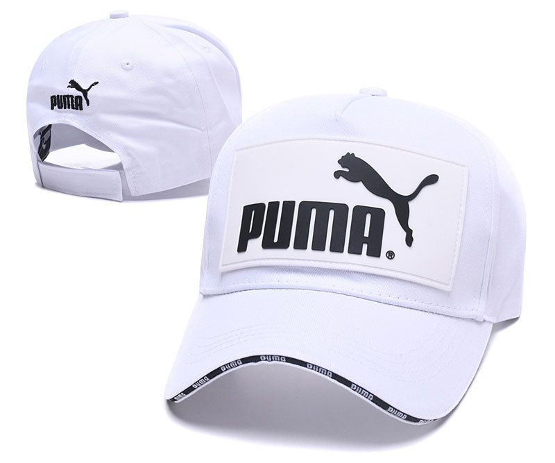 bfd94d07b7 Men's / Women's Puma The Logo Rubber Patch Stitched Curved Dad Cap ...
