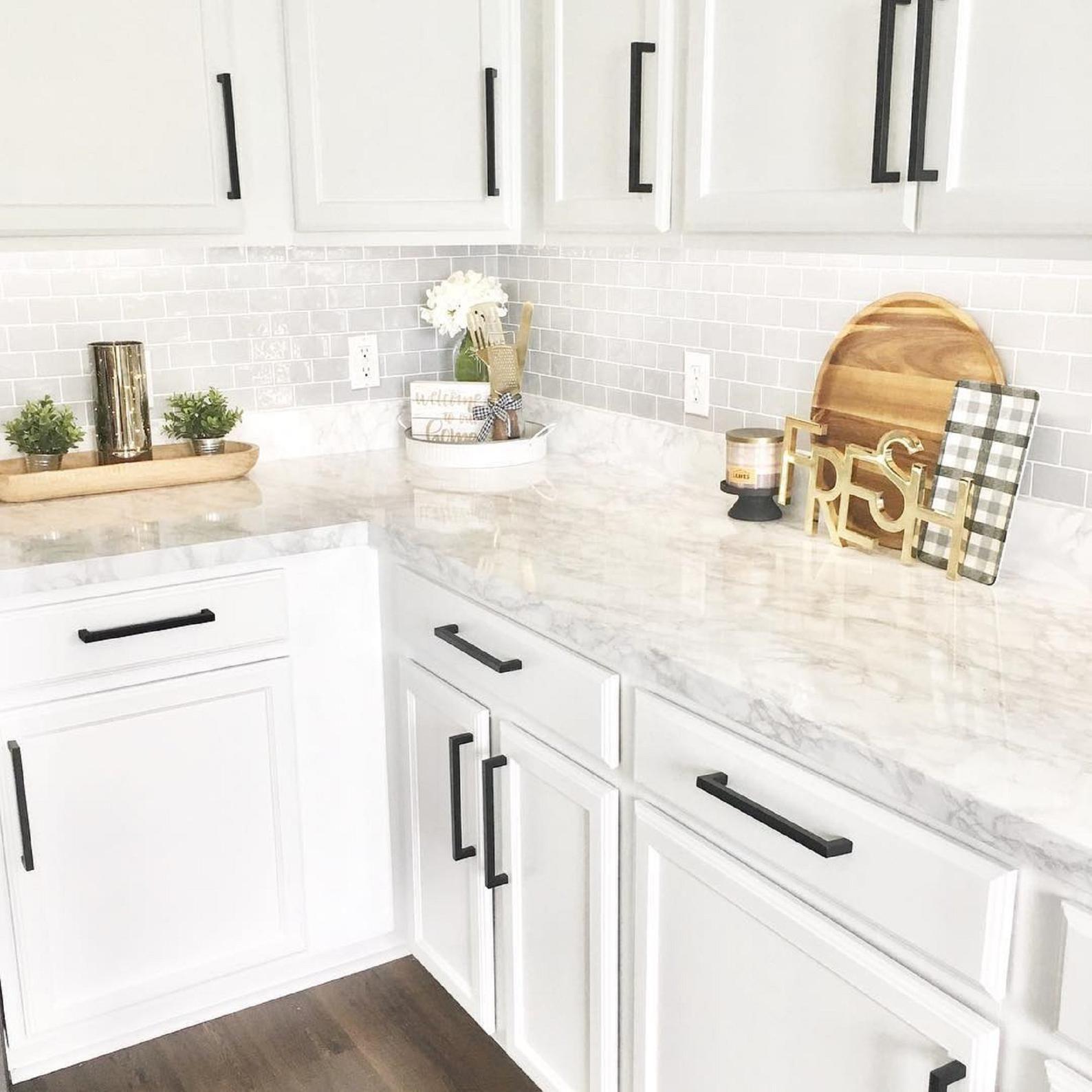 Ez Faux Decor Self Adhesive Decorative Peel And Stick Countertops Marble No Paint In 2020 Countertop Decor Kitchen Remodel Kitchen Counter Decor