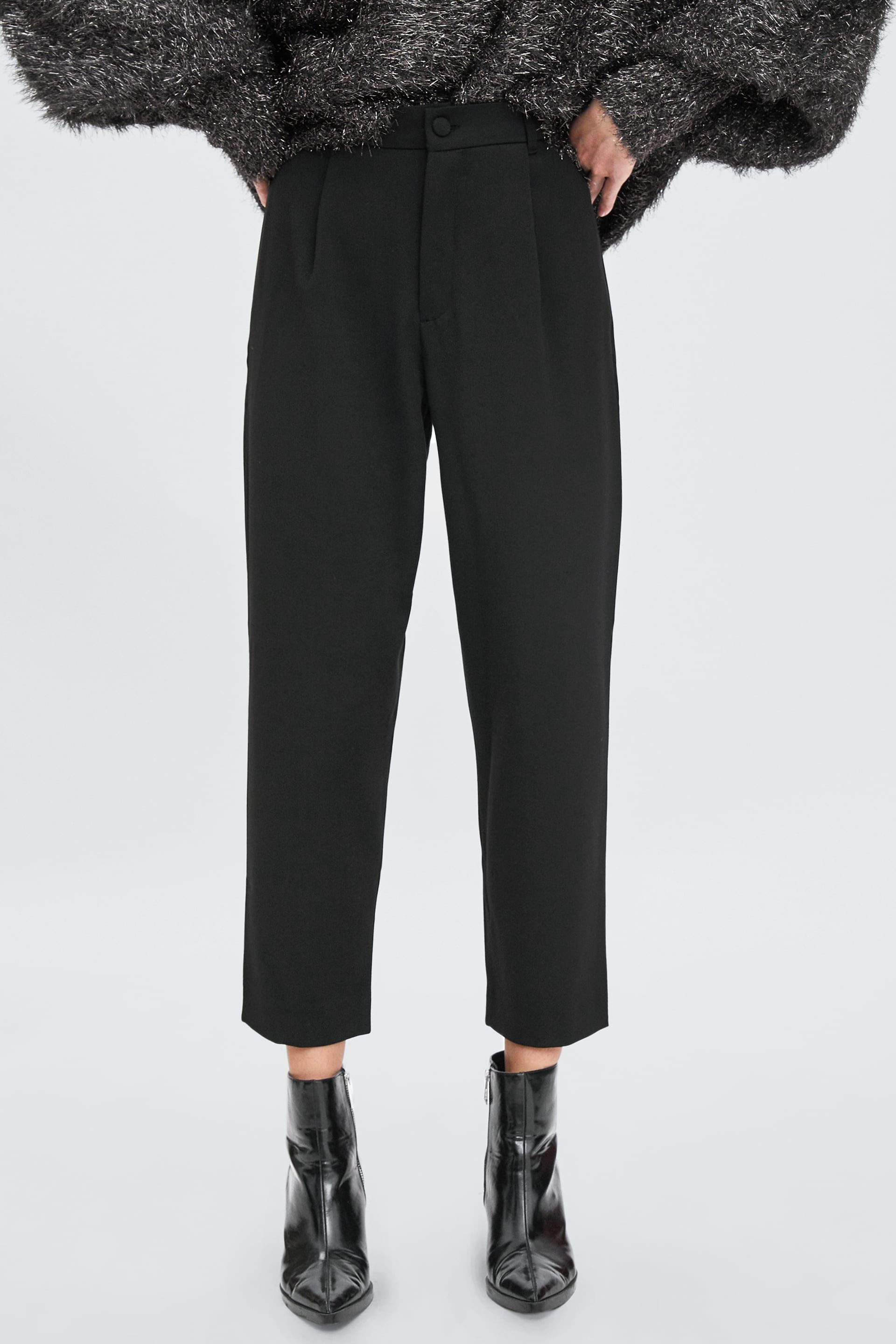 ce6389ab66 Image 2 of HIGH WAISTED CHINO PANTS from Zara   Wish List. in 2019 ...