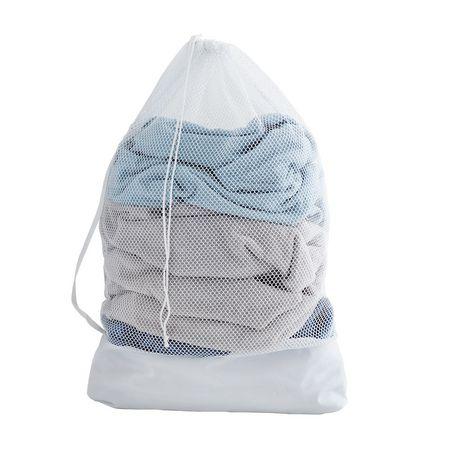 Mainstays Mesh Laundry Bag White Mesh Laundry Bags Laundry Hamper