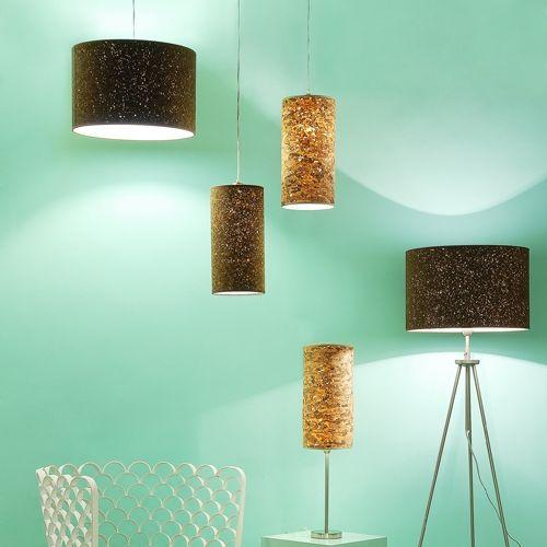 lampada da tavolo in pvc design collezione cork by innermost