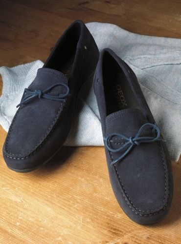 007cc55c78e The Geox Moccasin Style Driver in Navy Suede | Spring 2016 Shoe ...