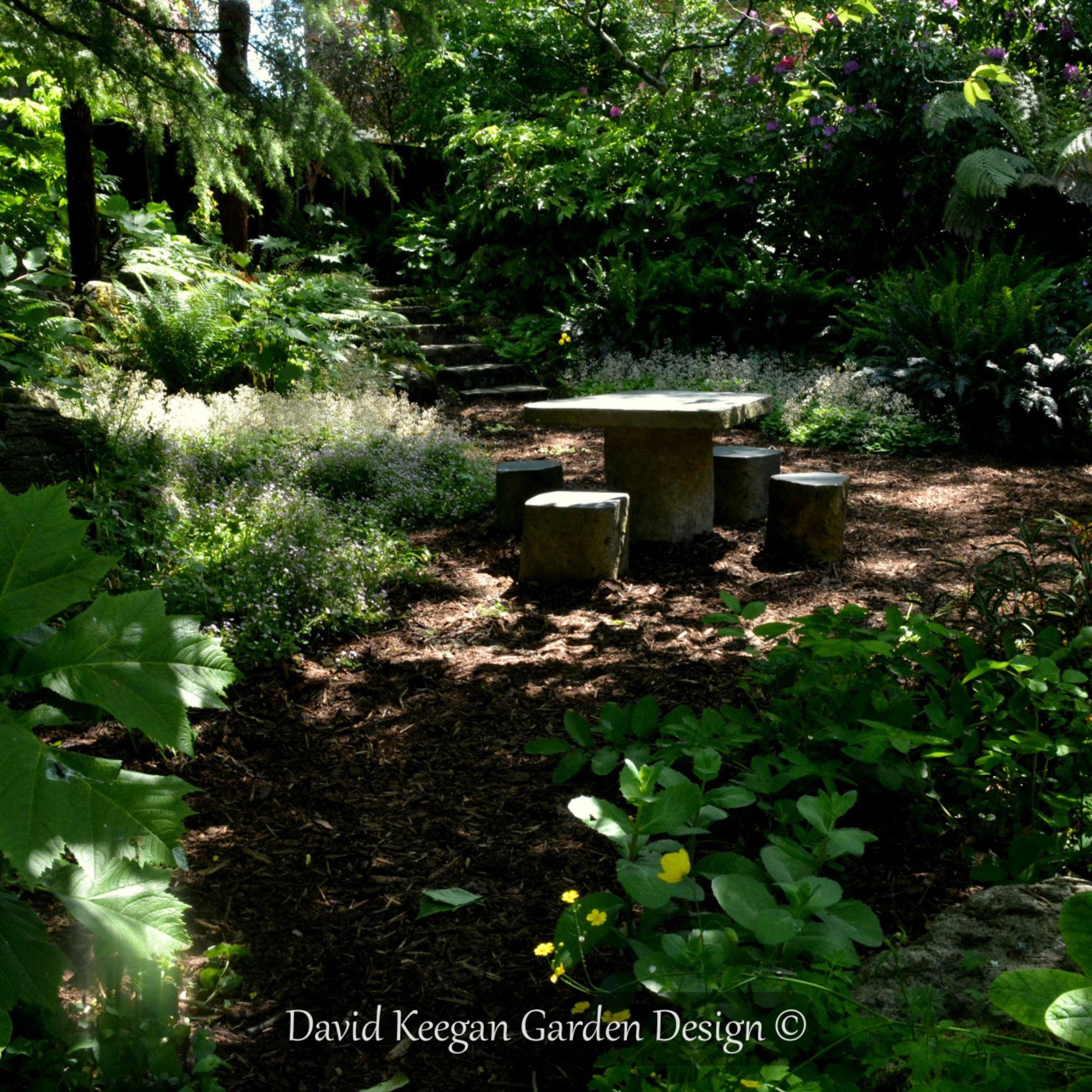 Enchanted Forest Garden By David Keegan Garden Design Lancashire North West Uk Forest Garden Garden Design Landscape Design