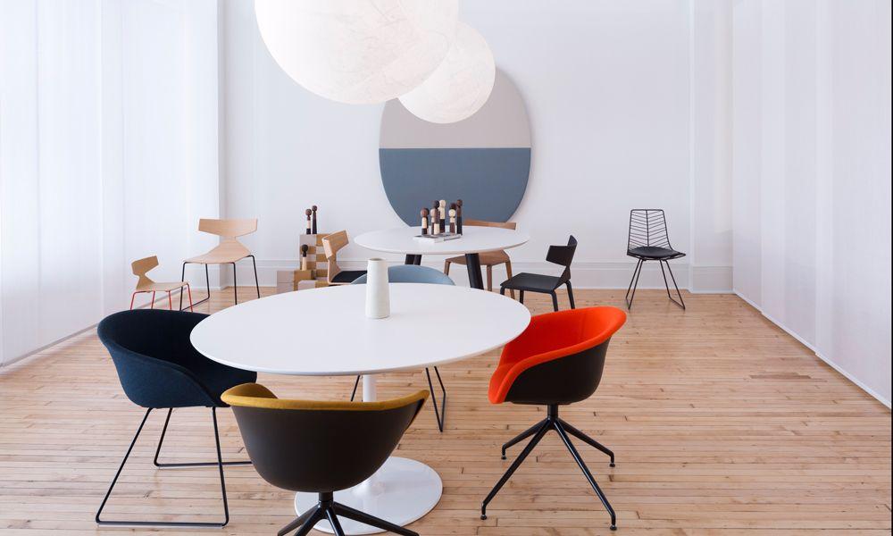 italian furniture company arper opens a manhattan showroom italian