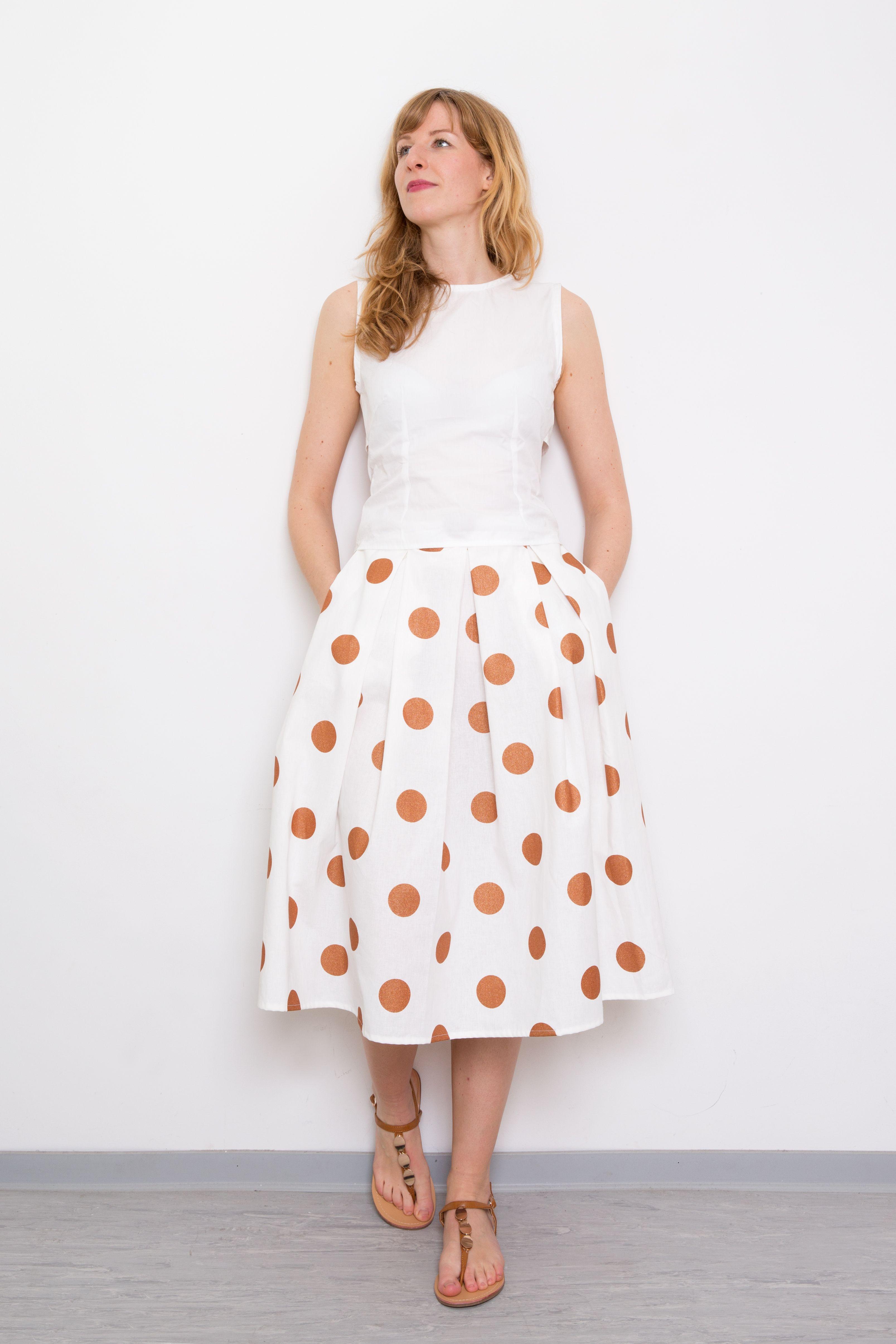 Rock Kupfer Liebe | Frühling/Sommer Outfits | Pinterest | Kupfer ...