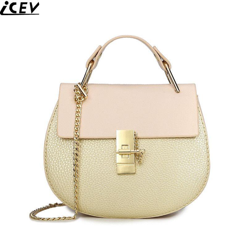 2017 New Candy Color Women Messenger Bag Ladies Small Cute Shoulder Bag  Designer Chain Crossbody Bags c9f73272bea35