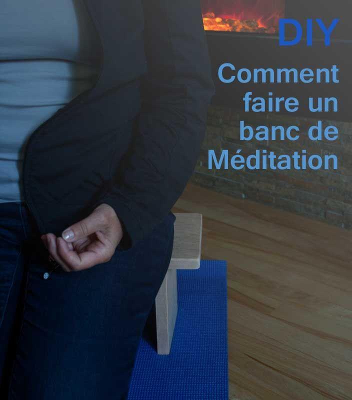 DIY  comment faire un banc de méditation