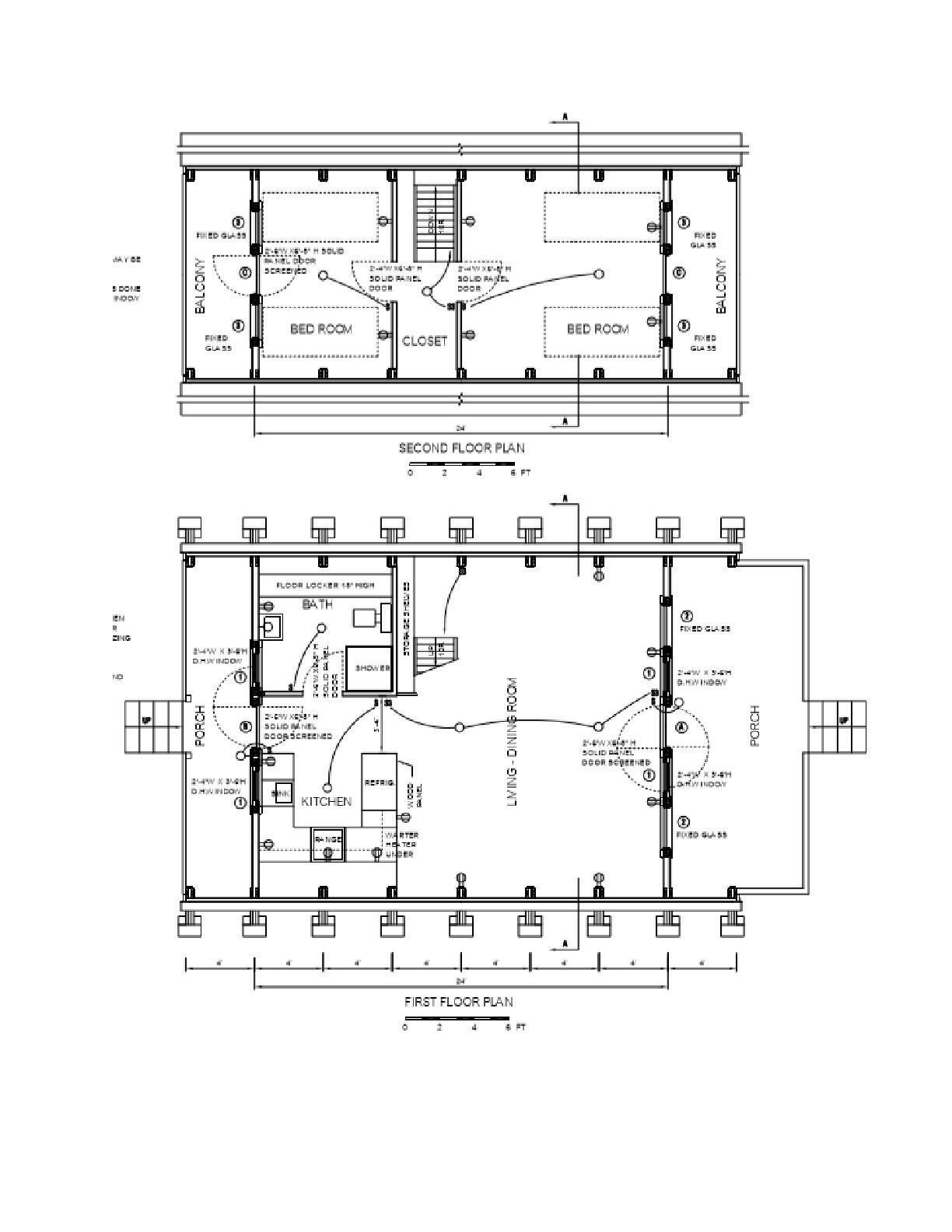 a frame cabin plans 24 x 21 two story a frame cabin vacation tiny house diy ebay tinyhouseprojects [ 1224 x 1584 Pixel ]