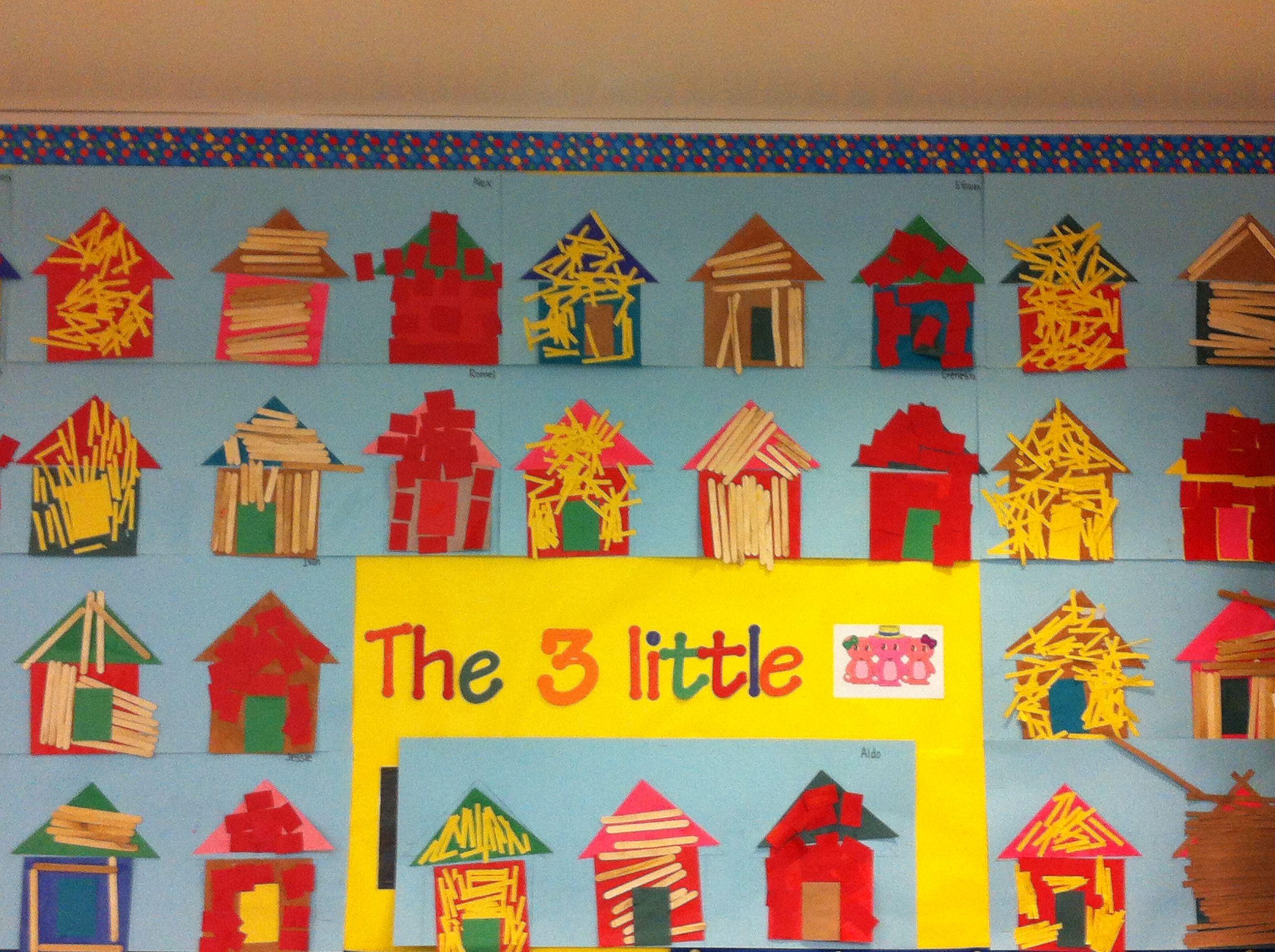 3 Little Pigs Bulletin Board