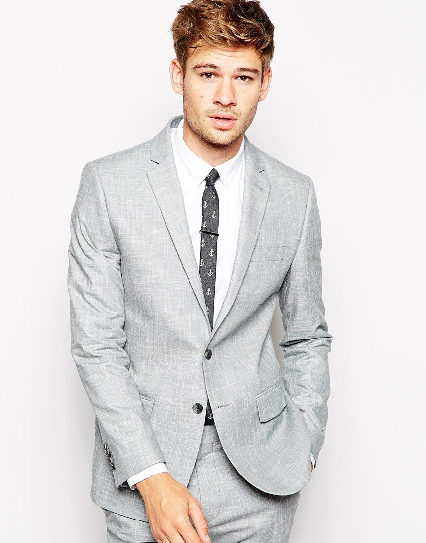 Light Grey Suit Jacket | Simple, Grey and Products