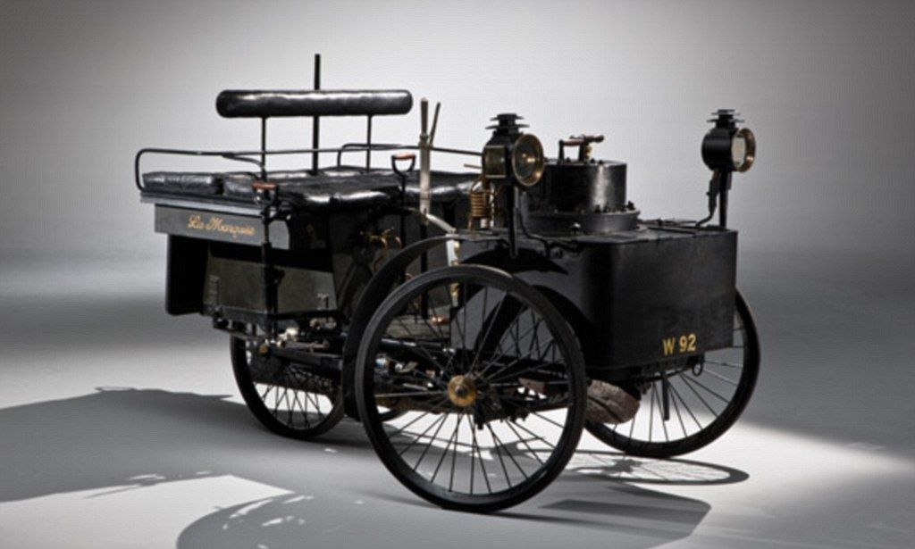 Still motoring on! World\'s oldest car up for sale and expected to ...