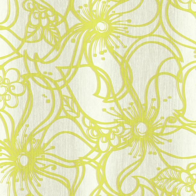 York ST6033 Paper Muse Whimsical Bloom Wallpaper