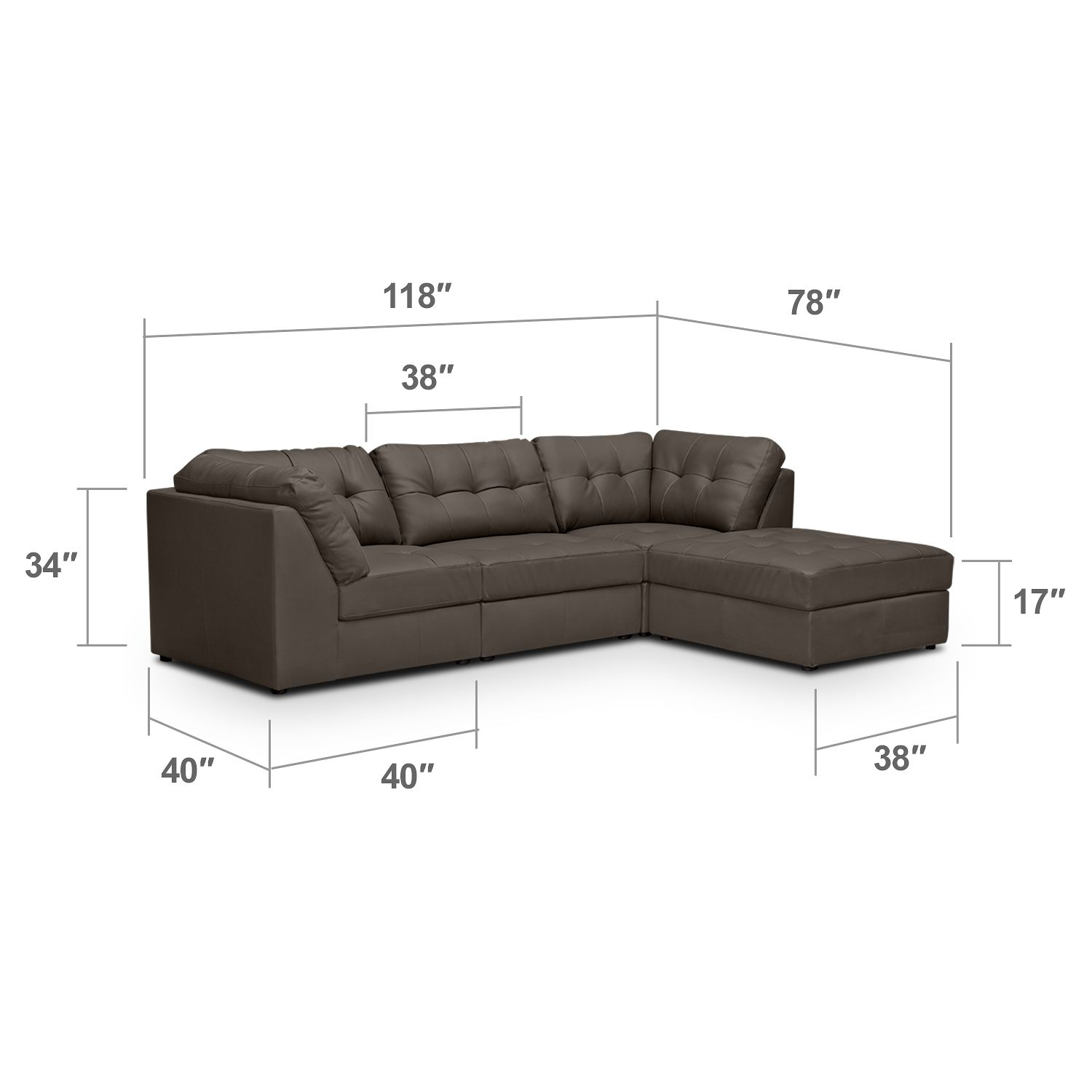 Remarkable Aventura Iii 4 Pc Sectional American Signature Furniture Andrewgaddart Wooden Chair Designs For Living Room Andrewgaddartcom