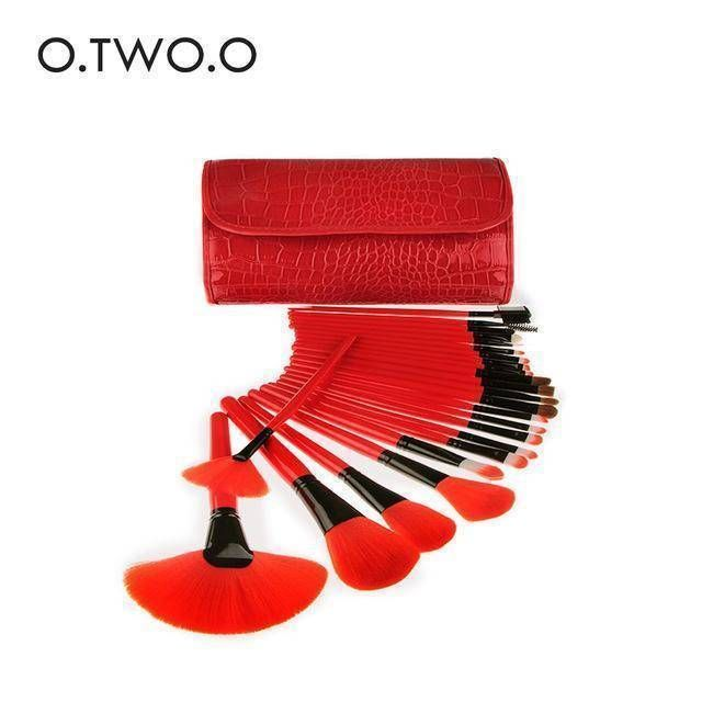 O Two O 24pcs Lot Make Up Brushes Set In 2020 Makeup Brush Set
