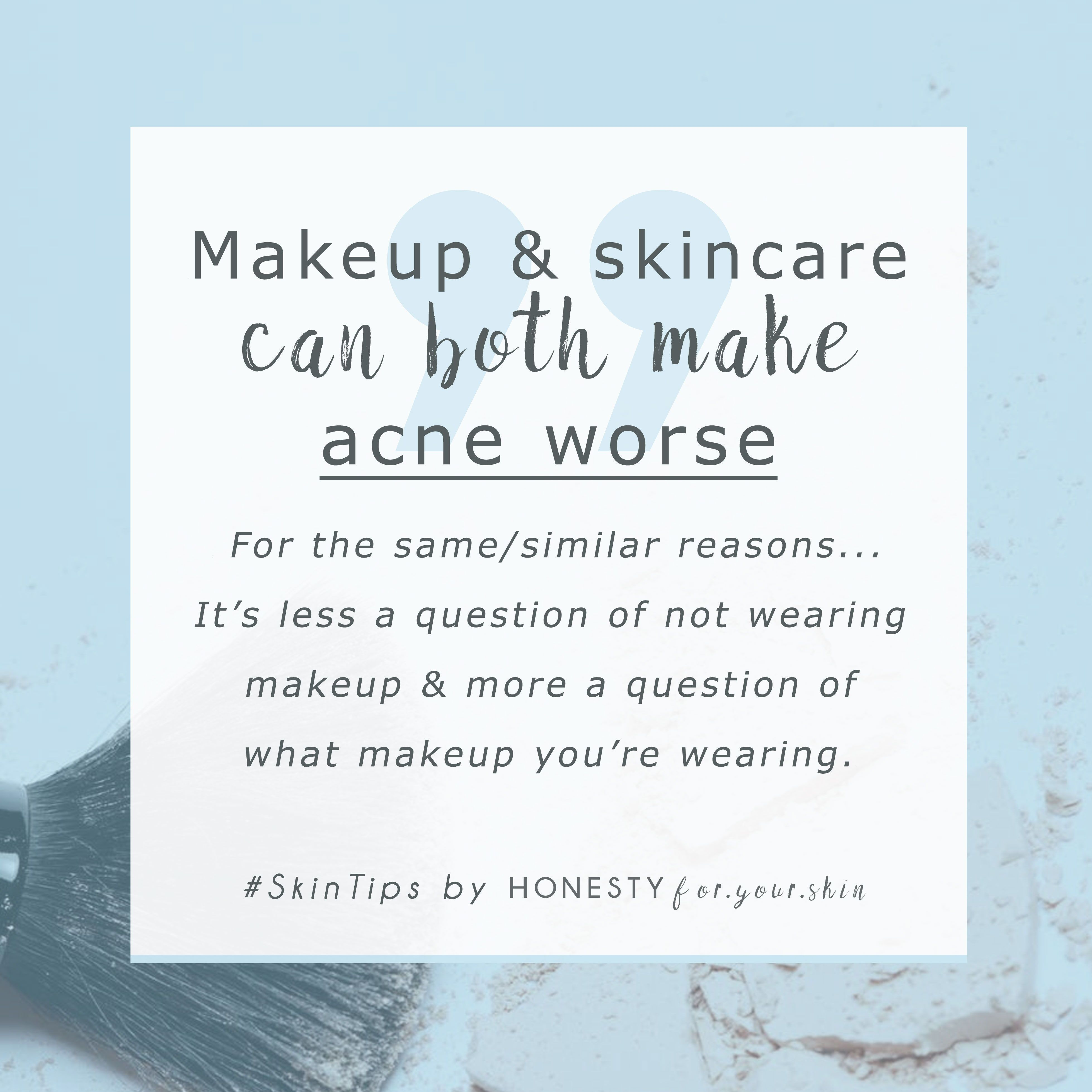 Does Makeup Cause Acne? You Might Be Shocked to Find This